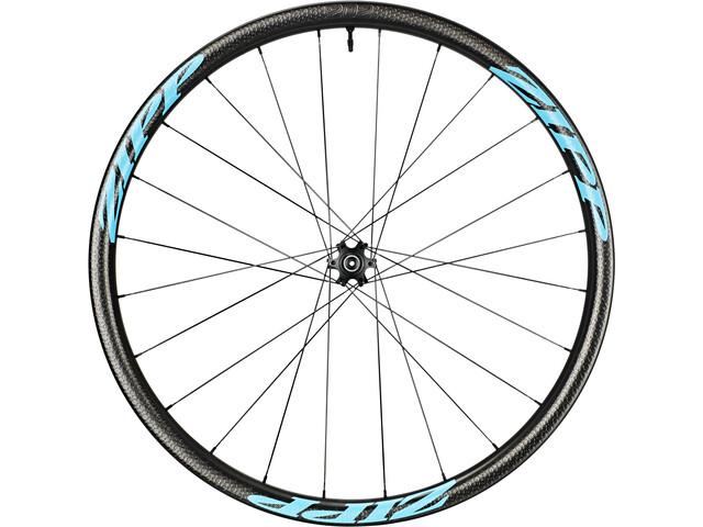 Zipp 202 Firecrest Ruota anteriore tubeless a disco, nero/blu